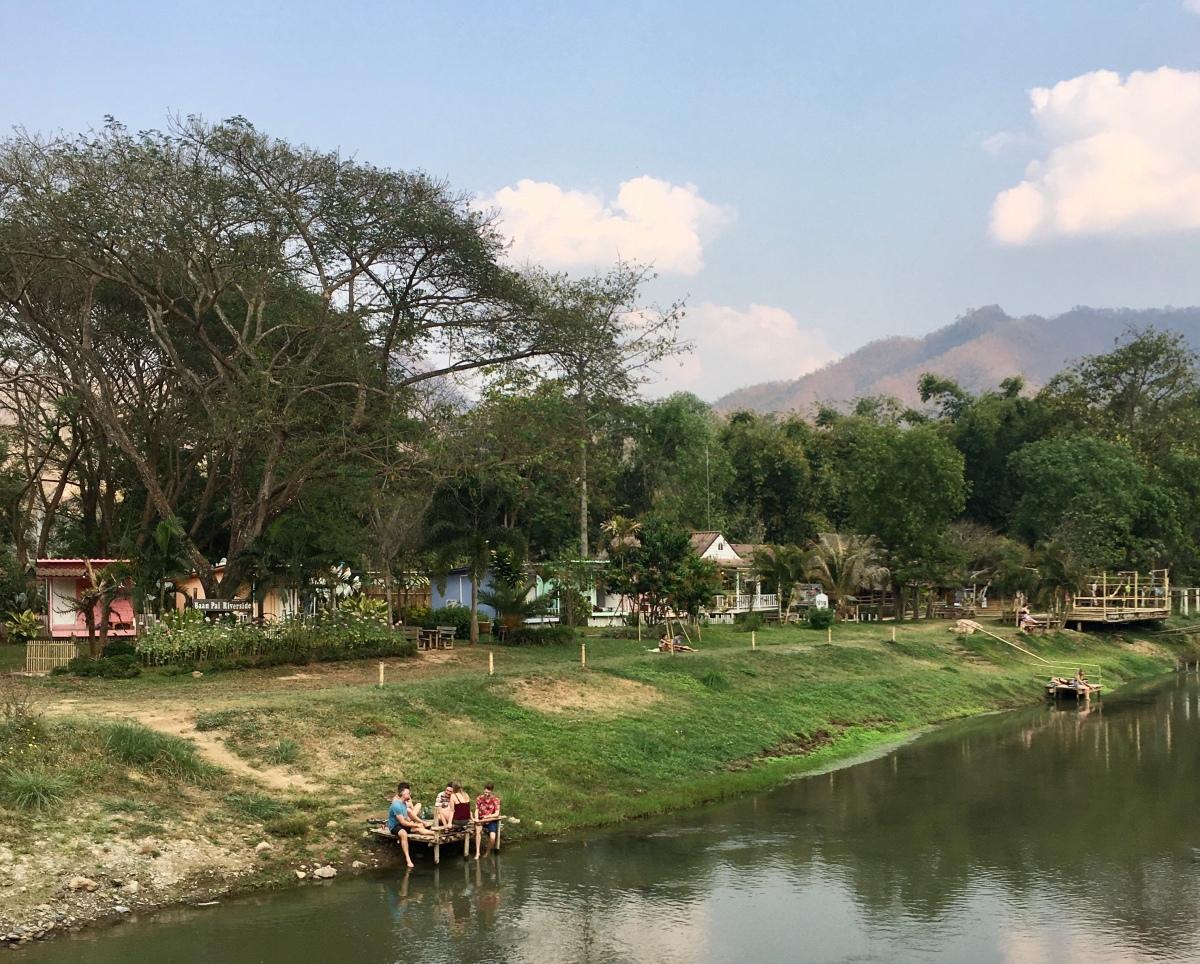Paï, village bohème